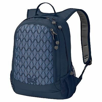Jack Wolfskin Rucksack Backpack Perfect Day midnight blue geometric leaves