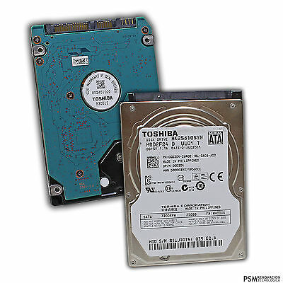 Disco Duro Interno Toshiba HDD2F24 MK2561GSYN 250GB 7200RPM 2.5 A22