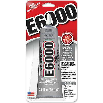 AMAZING GOOP E6000 CRAFT Glue Adhesive CLEAR 2.0 OZ 10-Pack