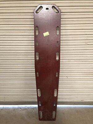 "Bound Tree Parr 72"" Portable Wooden Spine Board 1000 Pound Capacity Stretcher"