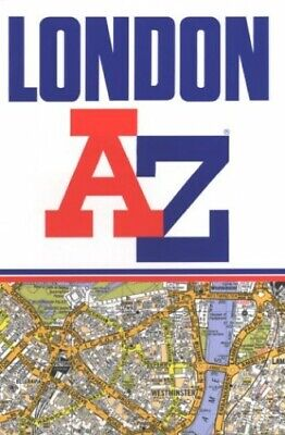 A. to Z. London Street Atlas by Geographers' A-Z Map Company Paperback Book The