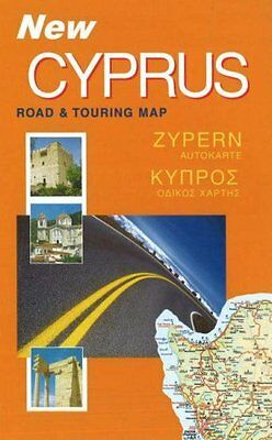 Cyprus Road and Touring Map, Cyprus Books Paperback Book The Cheap Fast Free