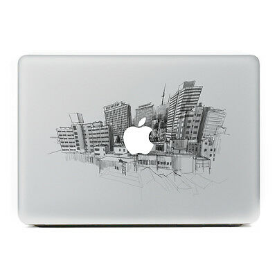 Tall Buildings City Laptop MAC Macbook decal sticker for Apple Air Pro Retina