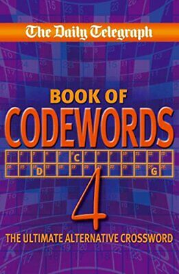 Daily Telegraph Codewords 4 by Telegraph Group Limited Paperback Book The Cheap