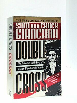 DOUBLE CROSS, Chuck Giancana Paperback Book The Cheap Fast Free Post
