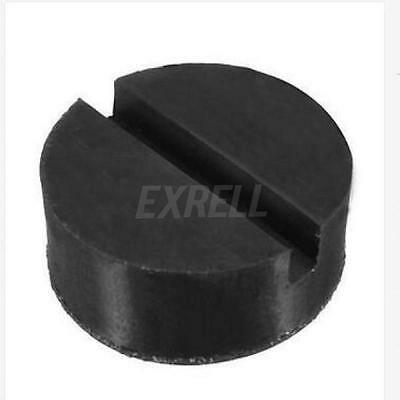 1XUniversal Floor Jack Disk Rubber Pad Adapter for Pinch Weld Side JACKPAD Black