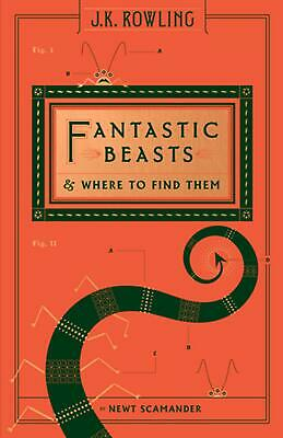 Fantastic Beasts and Where to Find Them by Inc. Scholastic (English) Hardcover B
