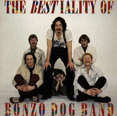 The Bestiality Of Bonzo Dog Band -  CD 5AVG The Cheap Fast Free Post The Cheap