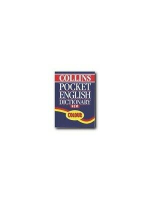 Collins Pocket English Dictionary Paperback Book The Cheap Fast Free Post