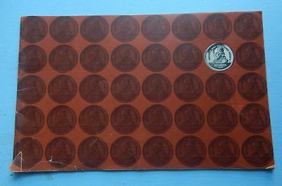 Old Franklin Mint Collectors Society Program Booklet - Free Shipping
