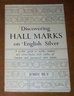 Discovering Hall Marks on English Silver, Bly, John Paperback Book The Cheap