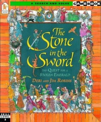 Stone in the Sword (Gamebooks), Robins, Jim Paperback Book The Cheap Fast Free