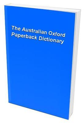 The Australian Oxford Paperback Dictionary Paperback Book The Cheap Fast Free