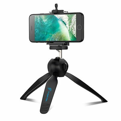 Fugetek Mini Tripod For Gopro, Smartphone, Compact Camera & DSLR, W/ Phone Mount