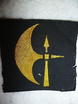 78th Infantry Division Formation Sign Printed Patch WW2 - UK, N. Africa, Sicily