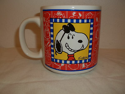 "Vintage Willitts Designs Peanuts ""snoopy"" Coffee Cup"