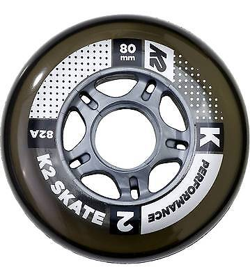 K2 Inliner - Rollen 80MM Performance WHEELS 4-PACK ohne Lager