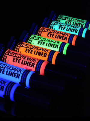 15ml Schwarzlicht Neon Eye Liner Glow in the Dark Bodypainting Party