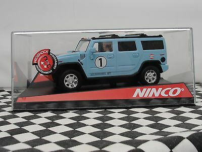 Ninco Hummer H2   Gulf   #1  50489  1:32 New Old Stock Boxed