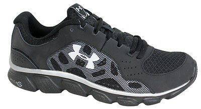 Under Armour BGS Micro G Assert IV Lace Up Mesh Youths Trainers 1242012 001 B23