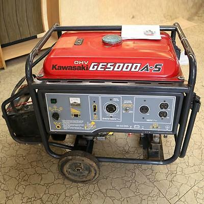 Kawasaki GE5000AS 5000W Portable Generator - Local Pick-Up Only