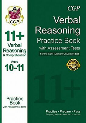11+ Verbal Reasoning Practice Book with Assessment Tests (Ages 1... by CGP Books