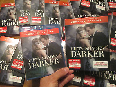 Fifty Shades Darker BLU-RAY + DVD + DIG. HD UNRATED EDITION BONUS CONTENT TARGET