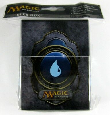 Blue Mana 3 Magic MtG Deck Box Ultra Pro Deckbox Magic the Gathering blau