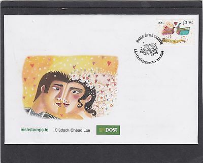Ireland 2010 Wedding Stamp First Day Cover FDC