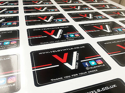 Your Company | Your Club | Your Business Logo | Custom Print Stickers | Vinyl