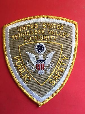 United States Tennessee Valley Authority Public Safety  Shoulder Patch