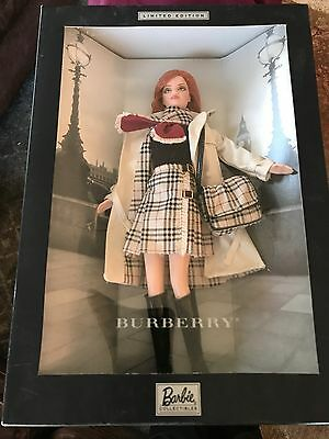 Barbie Collectibles Burberry Limited Edition