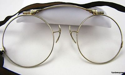 ANTIQUE EYE GLASSES - 14k Gold Optical Estate Folding