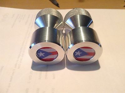 "Two hole pins Standard size. Puerto Rico Flag!  1/2"" to 1-5/8"""