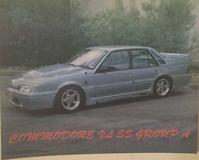 Holden Commodore VL Group A poster