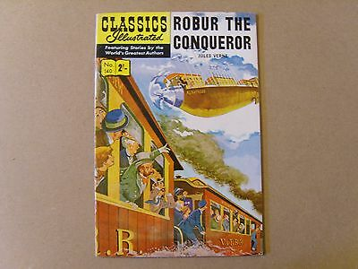 CLASSICS ILLUSTRATED  No. 140  - ROBUR THE CONQUEROR by JULES VERNE