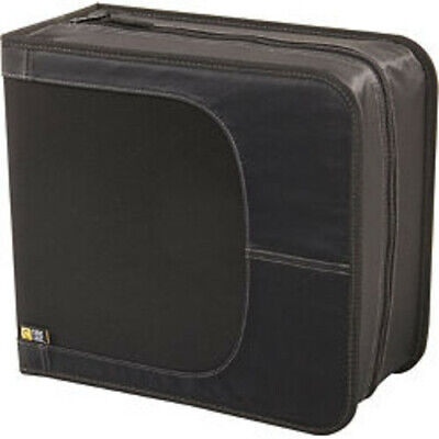 CDW-320 Black Nylon CD Wallet-320 or 160 W/Notes