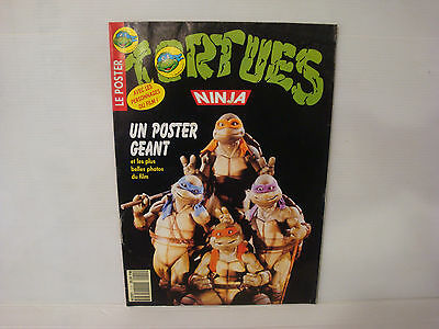 Poster géant Tortues ninja et photos du film - vintage TMNT