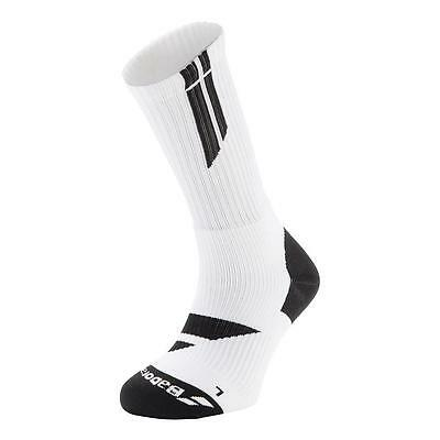 Babolat Unisex Team Big Logo Mid Calf Tennis Squash Badminton Socks NEW 2017