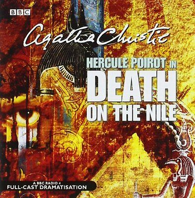 Death On The Nile (BBC Radio Collection) New Audio CD Book Agatha Christie, Full