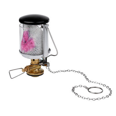 Mantle Propane Gas Lantern Hanging Glass Lamp Tent Light for Outdoor Camping