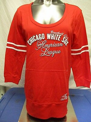 79f672c5 TOUCH BY ALYSSA Milano Womens MLB Chicago White Sox Top Shirt NWT 3XL