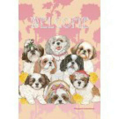 Garden Indoor/Outdoor Pipsqueak Flag - Shih Tzu 495381