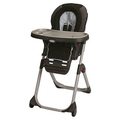 Graco DuoDiner LX 3-in-1 Folding Convertible Highchair -  Metropolis | 1852648