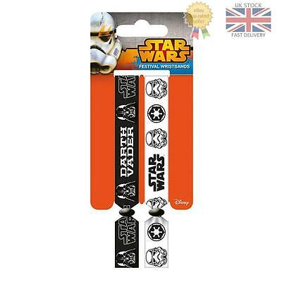 Star Wars Festival Wristbands Empire Official Licensed Product