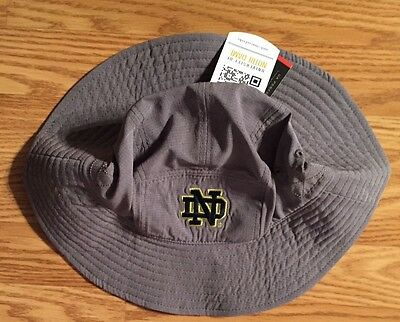 86682ecba62 ... where can i buy notre dame under armour air vent warrior bucket hat  gray new tags