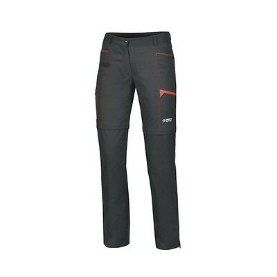 Direct Alpine Beam Lady Zip-Off Pant, Outdoorhose für Damen, anthrazit, Gr. M