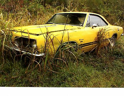 1968 Plymouth Barracuda - Abandoned Autos ~ Great Calendar Photo / Picture / Ad