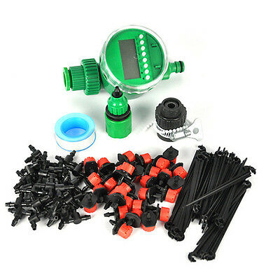 Greenhouse Water System Drip Irrigation Watering Automatic Garden Plant Tool
