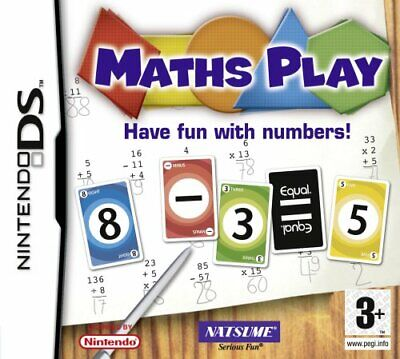 Maths Play (Nintendo DS) - Game  FMVG The Cheap Fast Free Post